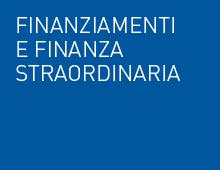 Finanziamenti e Finanza Straordinaria