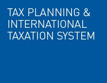 Tax planning and international taxation system