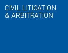 Civil litigation and arbitration